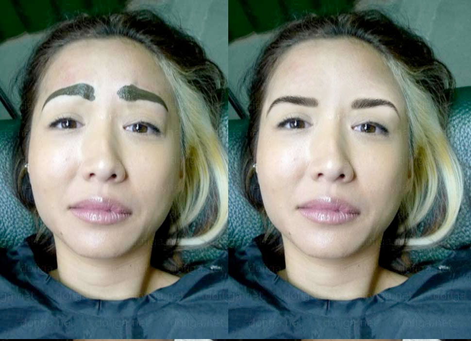 6 girls who didn't know what eyebrows were supposed to look like ...